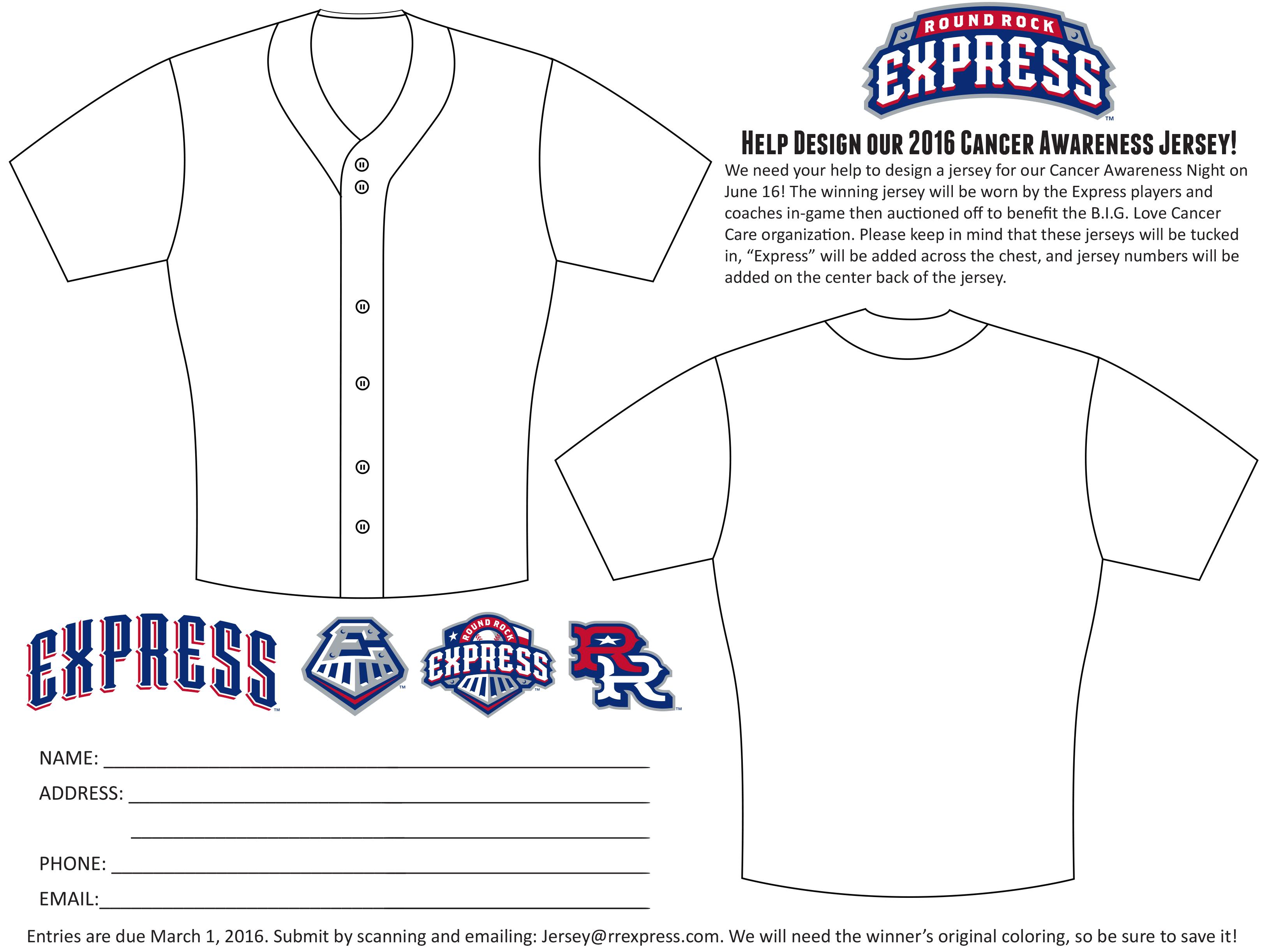 baseball jersey template