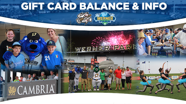 Gift Card Info & Balance | Omaha Storm Chasers Shop