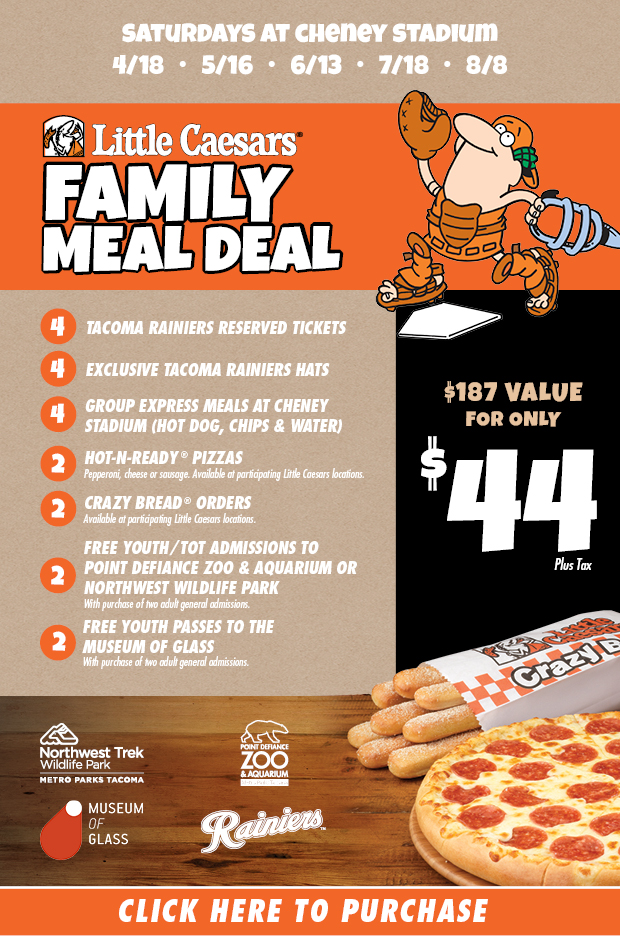 Offer available at participating Little Caesars stores in the 50U.S. (D.C.), excluding stadium, Kmart and Little Caesars Express locations and only on mobile app and online orders of a pizza (excluding LunchCombo) with valid promo code.
