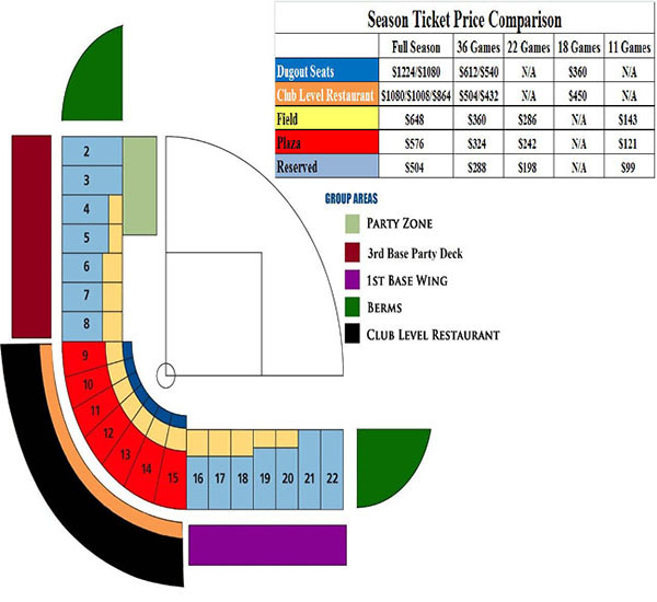 Cashman field seating chart las vegas aviators tickets