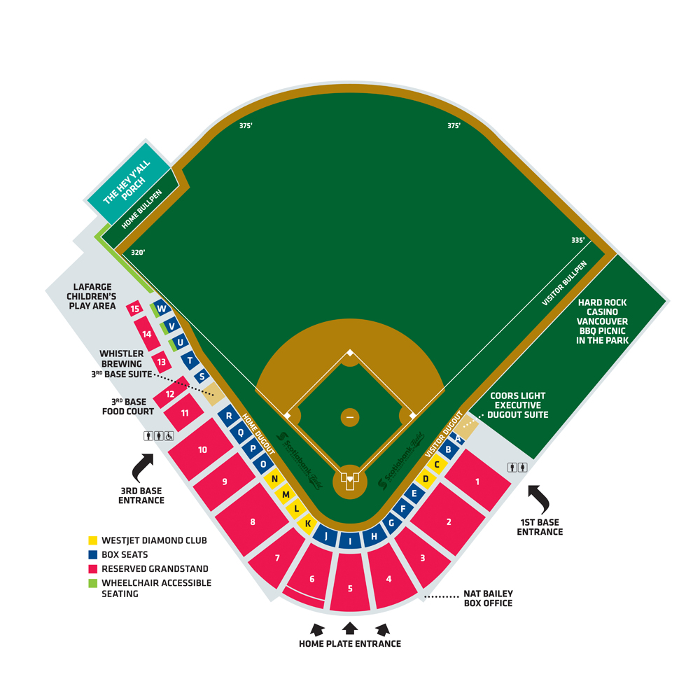 Toronto Rock Seating Chart 2015 2015 Seating Chart