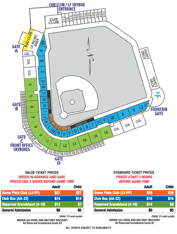 Individual Game Tickets Promotions Seating Chart And Ticket Prices