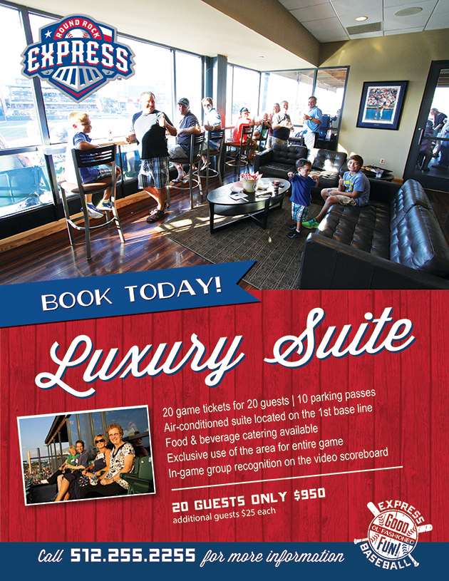 White Sox Party Deck Tickets Party Suites Round Rock