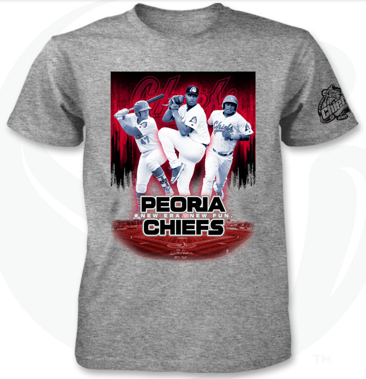 5d7d4c97 First 1,000 fans (Age 13 & up) will be getting a Star Wars: The Last Jedi  inspired t-shirt of the Peoria Chiefs | Presented By Sam's Club