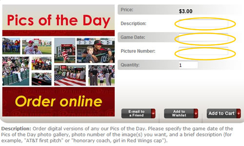 Order Pics of the Day online
