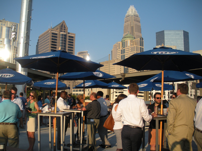 Miller Lite Rooftop Party Zone & Miller Lite Rooftop Party Zone | Charlotte Knights Content