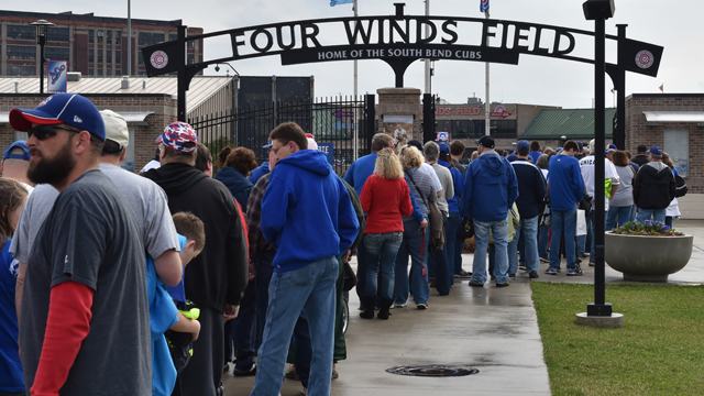 South Bend Cubs Gate D
