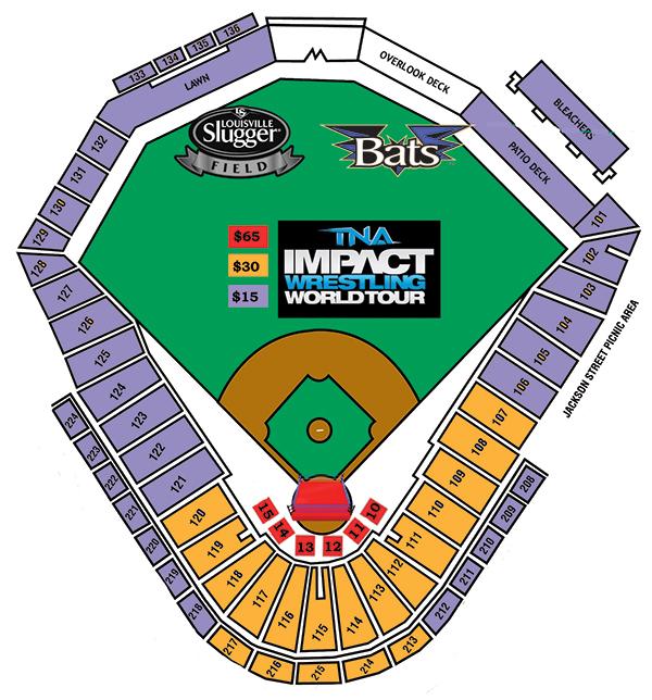 Tna Impact Wrestling Louisville Bats Content