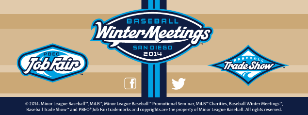 Baseball Winter Meetings footer