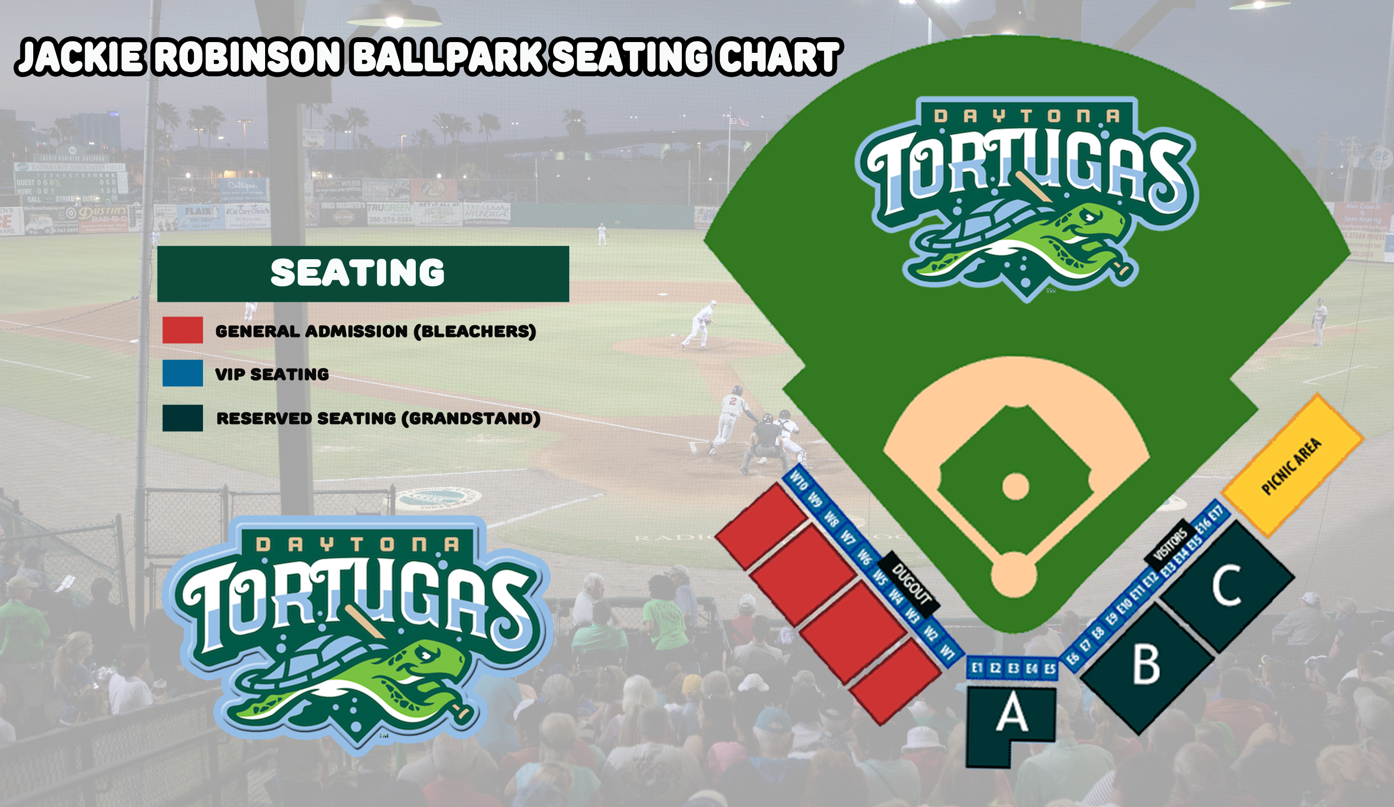 2017 seating chart