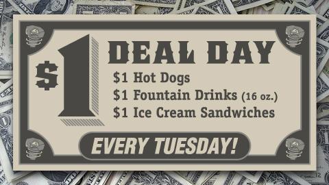 Dollar Deal Day