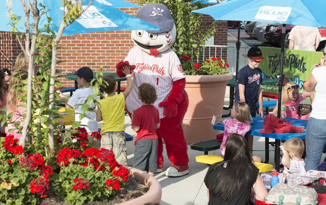 Birthday Parties and First Pitches Reading Fightin Phils Team Info