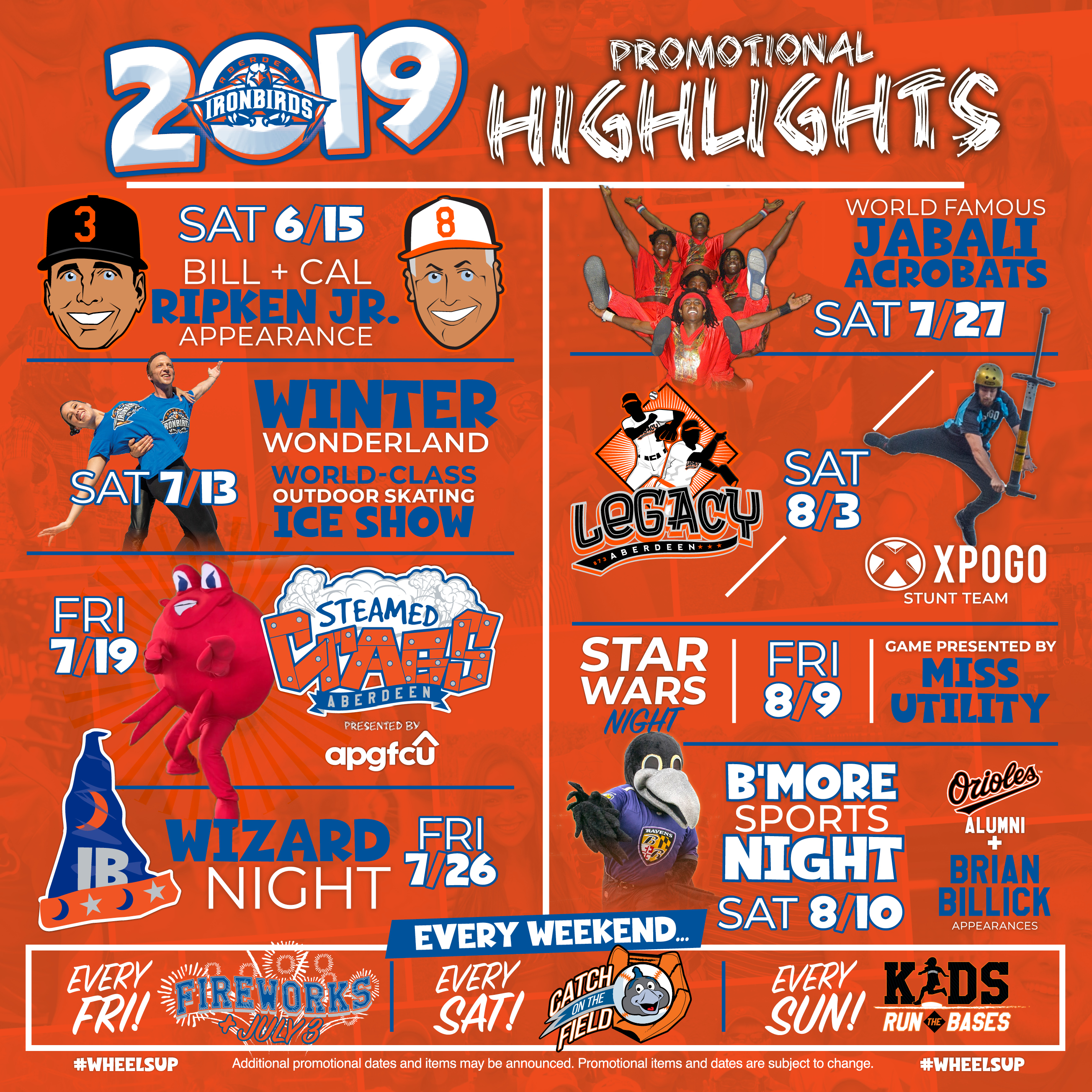 photograph relating to Orioles Printable Schedule named IronBirds 2019 Bargains IronBirds