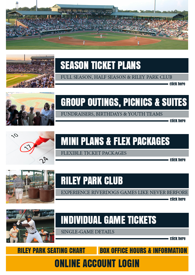 2017 RiverDogs Tickets