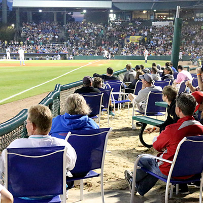 Best Seat In The House Milb Com Fans The Official Site