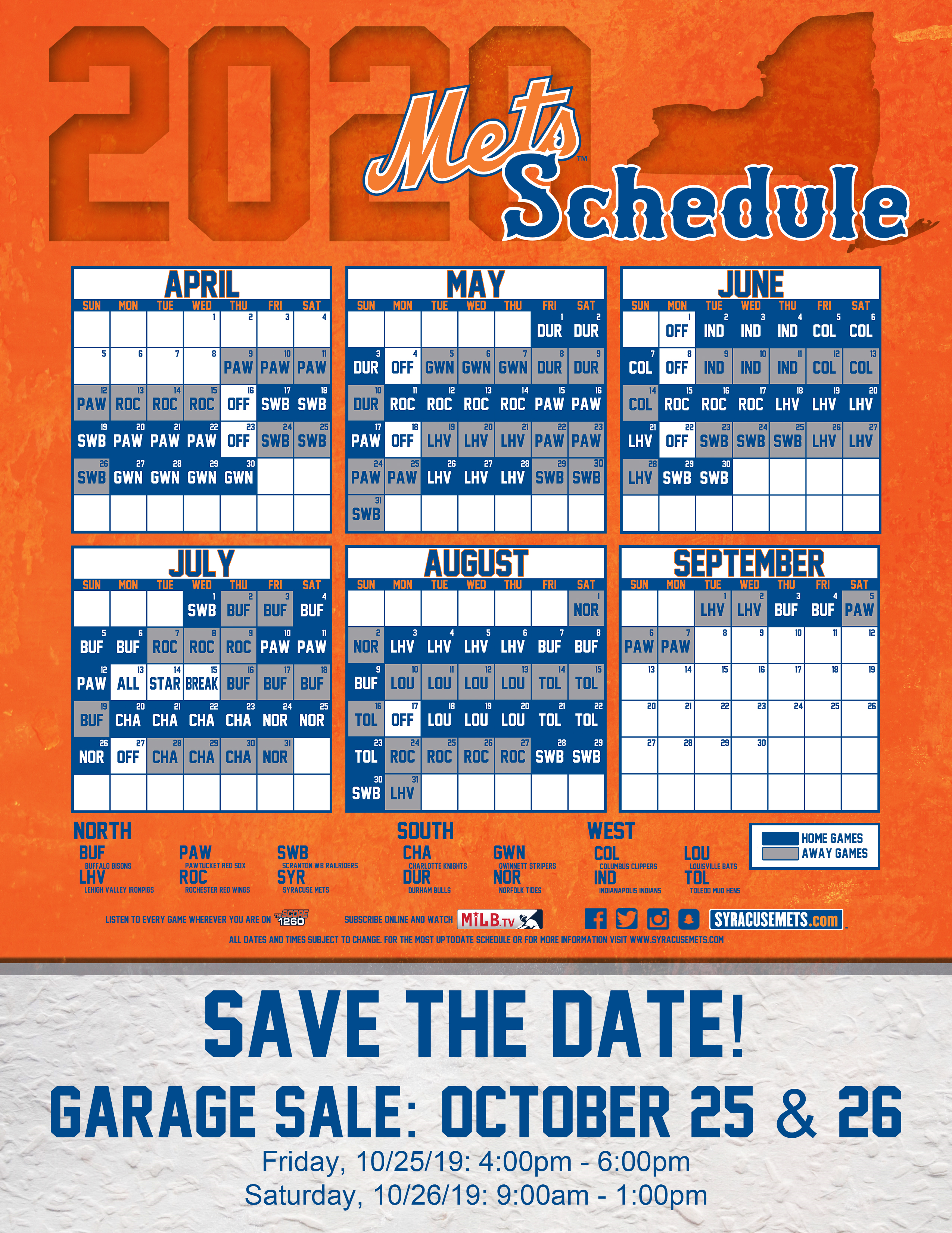 Ambitious image with regard to mets printable schedule