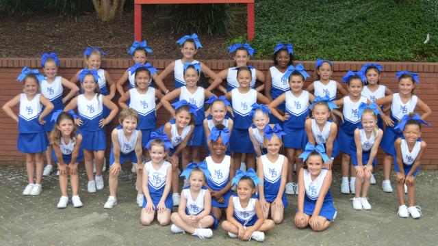 Pelicans Cheer Team
